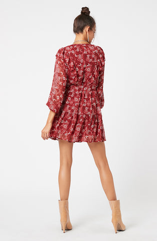 Midnight Merlot Mini Dress