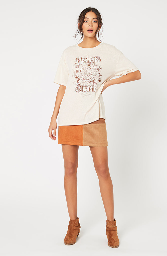 I Love Heart Minks Ladies T-Shirt
