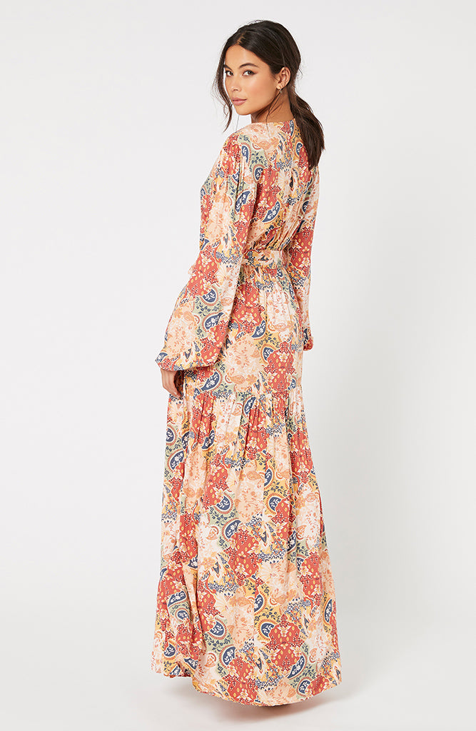 Patchwork Paisley Maxi Dress (4551573438557)