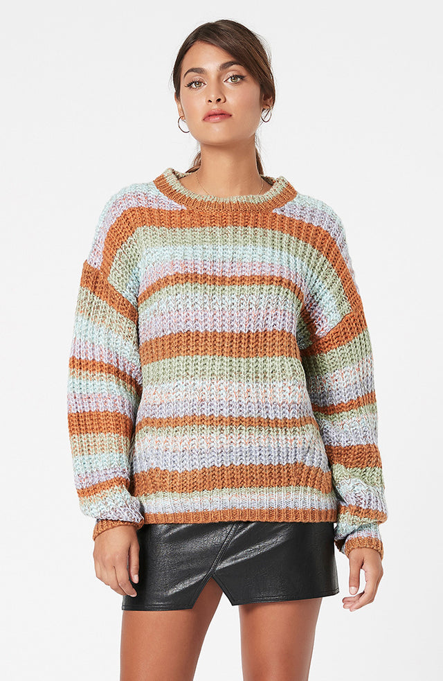 Susie Stripe Knit Jumper