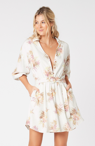 Tropic Dreaming Shirt Dress