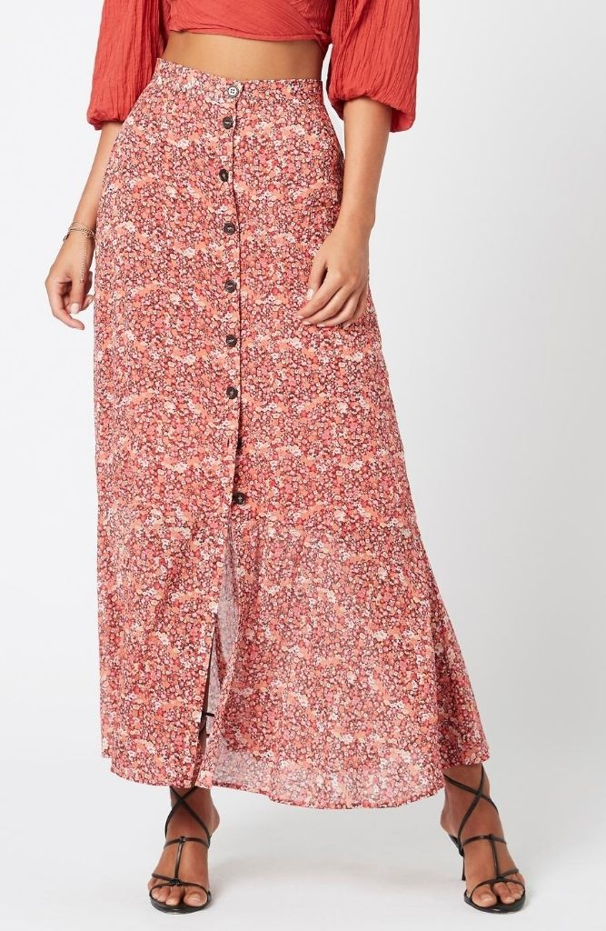 Heirloom Blossom Maxi Skirt