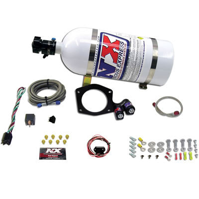 Nitrous Express 5TH GEN CAMARO PLATE SYSTEM W/ 10LB BOTTLE