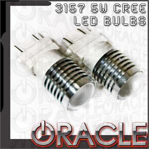 ORACLE 3157 5W CREE LED Reverse Light Bulbs - Southwest Speed LLC