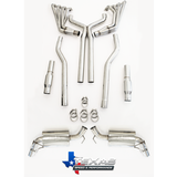 "Texas Speed & Performance Complete 1 7/8"" or 2"" Header and Exhaust System (5th Gen Camaro SS & ZL1) - Southwest Speed LLC"