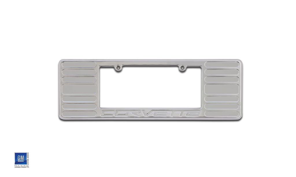 2005 + Defenderworx Corvette License Plate Frame Large - Southwest Speed LLC