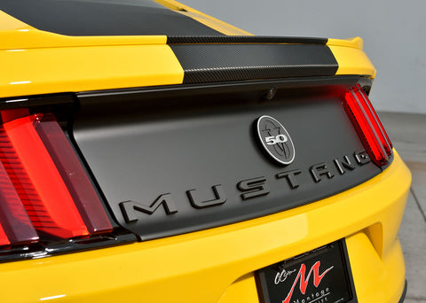 Defenderworx Mustang Trunk Letters - Southwest Speed LLC