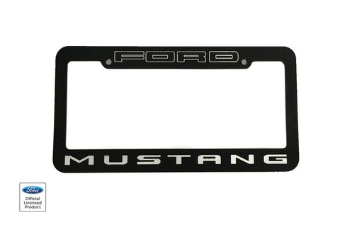 Defenderworx Mustang License Plate Standard Frame - Southwest Speed LLC