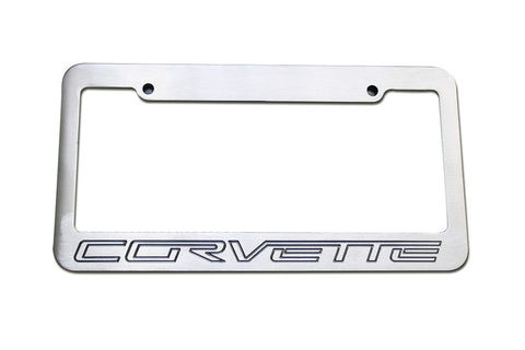 Defenderworx Corvette License Plate Standard Frame - Southwest Speed LLC