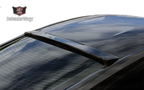 2015 + Defenderworx Ford Mustang Carbon Fiber Rear Upper Window Spoiler - Southwest Speed LLC
