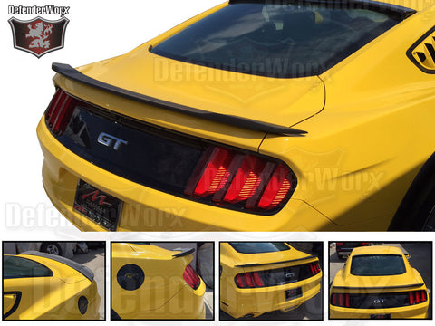 2015 + Defenderworx Ford Mustang FRP Trunk Spoiler - Southwest Speed LLC