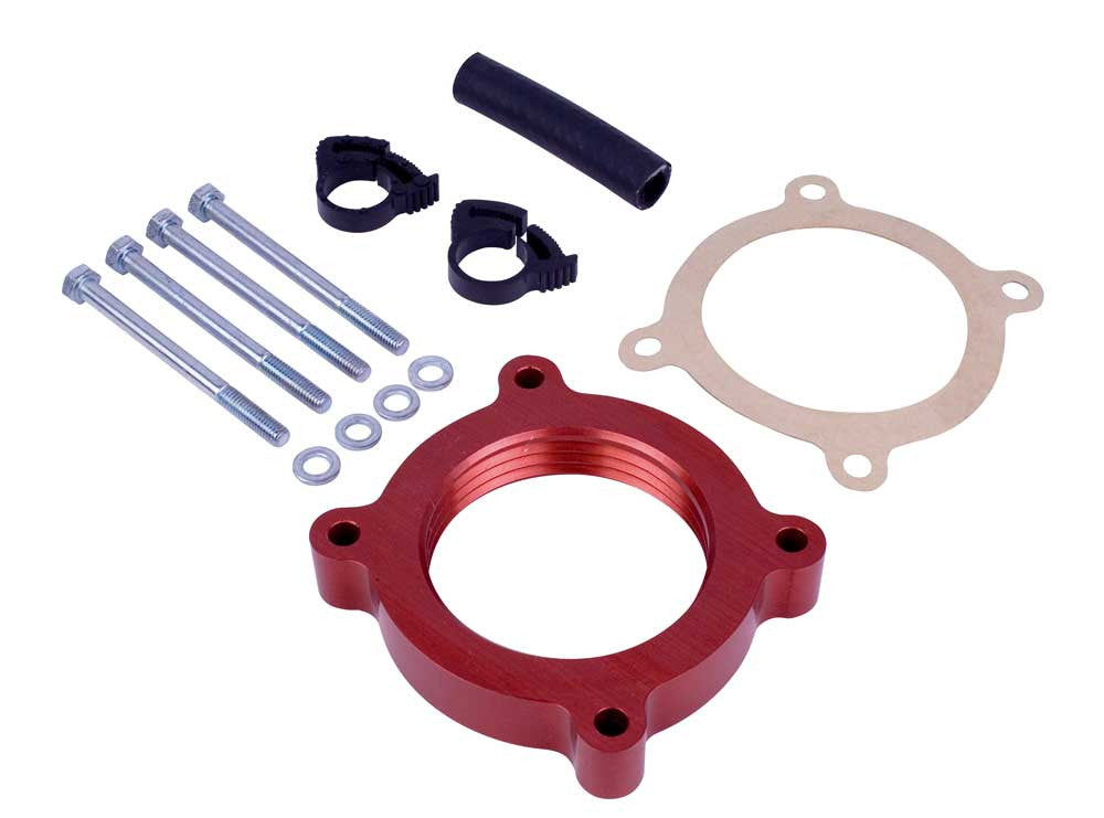 Airaid 11-15 Ford Mustang 3.7L V6 / 11-14 Ford F-150 3.7L V6 PowerAid TB Spacer  - Southwest Speed LLC