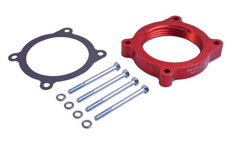 Airaid 11-15 Ford Mustang / 11-13 F-150 5.0L V8 PowerAid TB Spacer  - Southwest Speed LLC