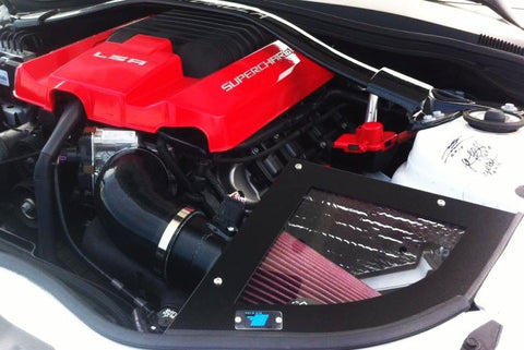 CAI 2012-15 6.2L Chevrolet Camaro ZL1 Intake System (Textured Black Finish) - Southwest Speed LLC