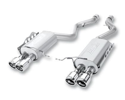 "Borla S Type Cat Back 15 Ford Mustang 2.3L EcoBoost MT/AT 2.25"" pipe 4"" tip  - Southwest Speed LLC"