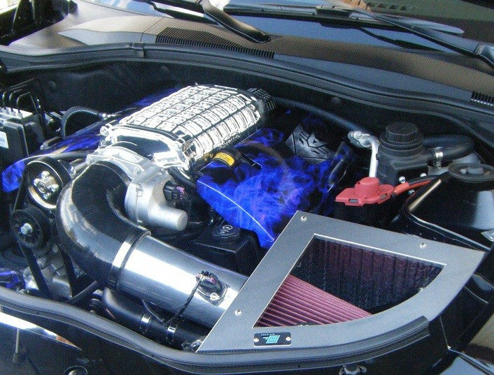CAI 2010 - 2015 6.2L Chevrolet Camaro Intake System w/ Magnuson or Whipple Supercharger - Southwest Speed LLC