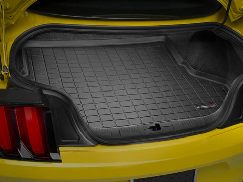 WeatherTech 2015 Ford Mustang CP Cargo Liner - Black