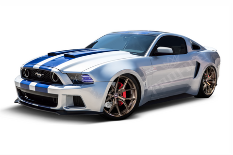 Ford Mustang 10-14 RGB Projector Profile Prism Fitted Halos - Southwest Speed LLC