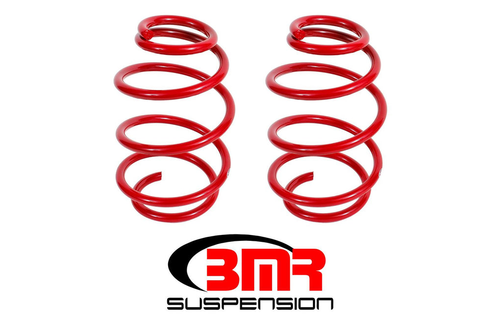 "BMR 2010 - 2015 Chevy Camaro Lowering Springs, Front, 1.25"" Drop, 220 Spring Rate, V8"