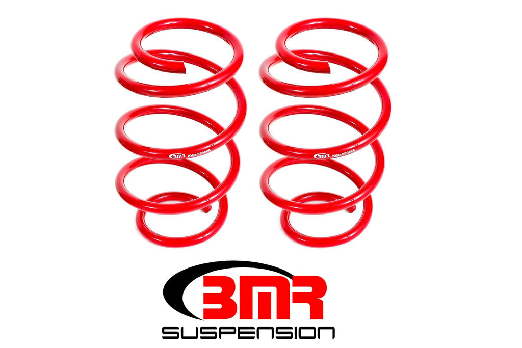 BMR 2015 Ford Mustang Lowering Springs, Front, Minimum Drop, Performance Version