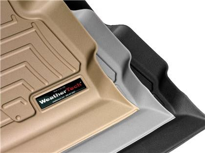 WeatherTech 11+ Dodge Challenger Front and Rear Floorliners - Black - Southwest Speed LLC