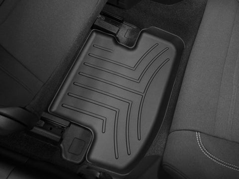 WeatherTech 15 Ford Mustang 2nd Row FloorLiners - Black  - Southwest Speed LLC