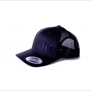 BTR RETRO BLACK TRUCKER HAT - Southwest Speed LLC