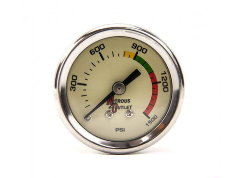 Nitrous Outlet Luminescent Nitrous Pressure Gauge - Southwest Speed LLC