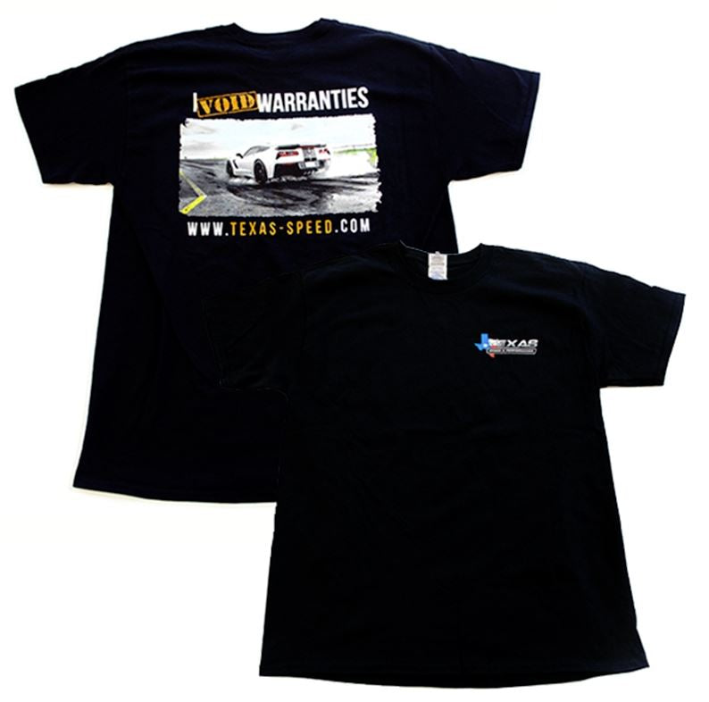Texas Speed I Void Warranties T-shirt - Southwest Speed LLC