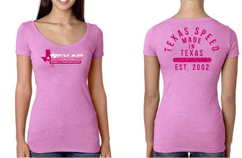 Texas Speed & Performance Pink Women's Tee - Southwest Speed LLC