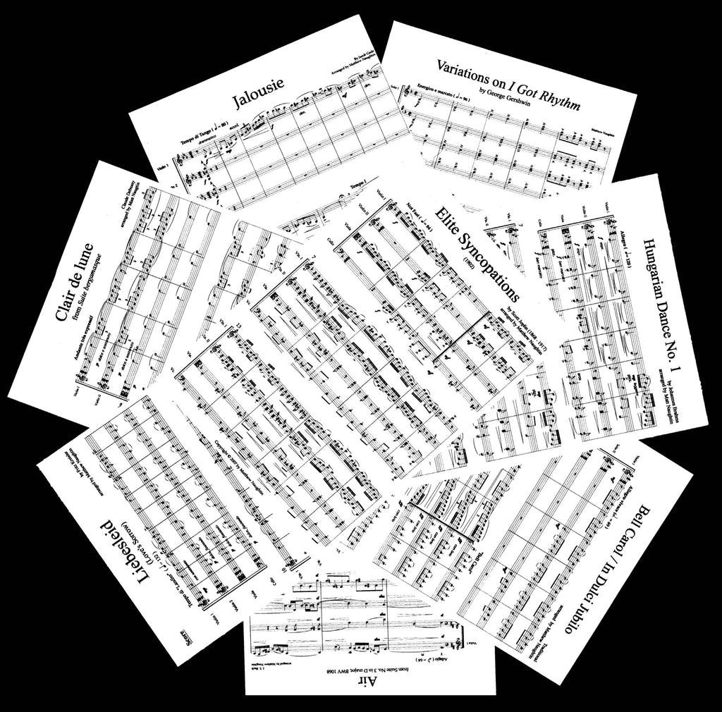 The Complete Set of String Arrangements