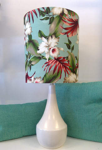 Tropical Leaf Lampshade Summer