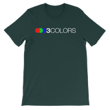 3 Colors Classic Short-Sleeve Unisex T-Shirt