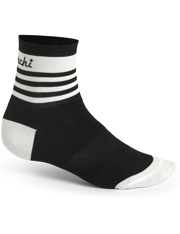 De Marchi Pro Socks Black Stripes