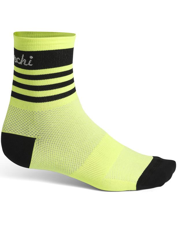 De Marchi Pro Socks Yellow Stripes