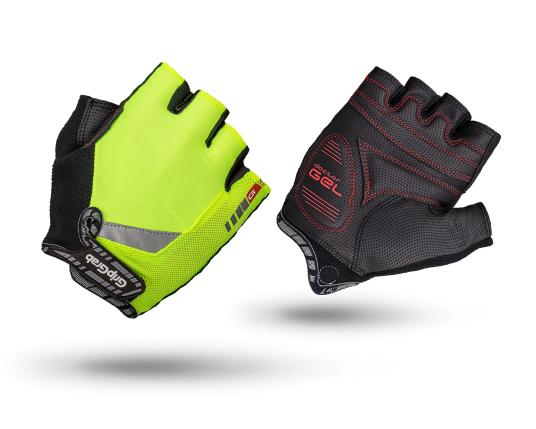 Grip grab cycling glove ProGel Hi-Vis