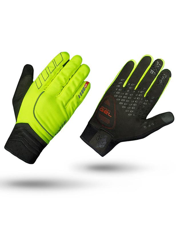 Gripgrab cycling hurrican high vis winter glove