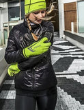 GribGrab Running Export Hi-vis Cycling Glove - woman