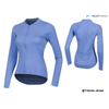 Pearl Izumi Womens Select Pursuit Long Sleeve Summer Jersey - Lavender