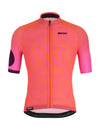 Santini Karma Mille Jersey - Atomic Orange