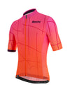 Santini Tono Puro Jersey - Atomic Orange