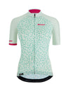 Santini Women's TONO Chromosome Dewy Green