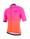 Santini Karma Luce Jersey - Atomic Orange