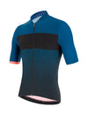 Santini Redux Fortuna Aero Short Sleeve Cycling Jersey - Teal/Black