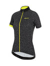 Santini Women's GIADA Hip Jersey Citrus Yellow/Black