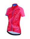 Santini Women's GIADA Pop Jersey Rose Pink/Electric Blue