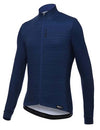 Santini Classe Thermal Long Sleeve Cycling Jersey Blue