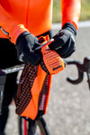 Santini Nebula Wind Vest - Black/Orange