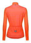 Santini Women's Scia Thermal Long Sleeve jersey orange