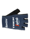 Santini 2020 Trek Segafredo Team Replica Gloves - Navy Blue